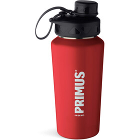 Primus TrailBottle Water Bottle Stainless Steel 600ml, red